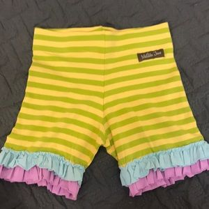 NWT MATILDA JANE SHORTS Purple Blue Green Yellow